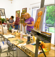 OIL PAINTING FOR BEGINNERS Workshop: 3 Days, July 10, 11,12 Mon-Wed  4:00-6:15 p.m.  Instructor Nicole Siccone