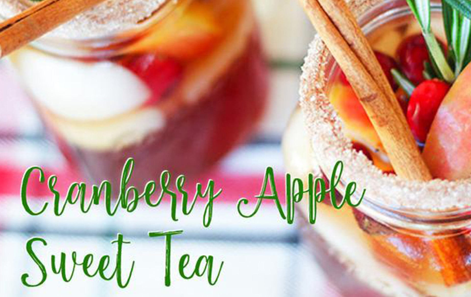 Receta: Cranberry Apple Sweet Tea