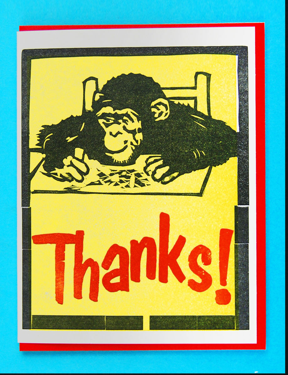 Thank You! (Monkey)