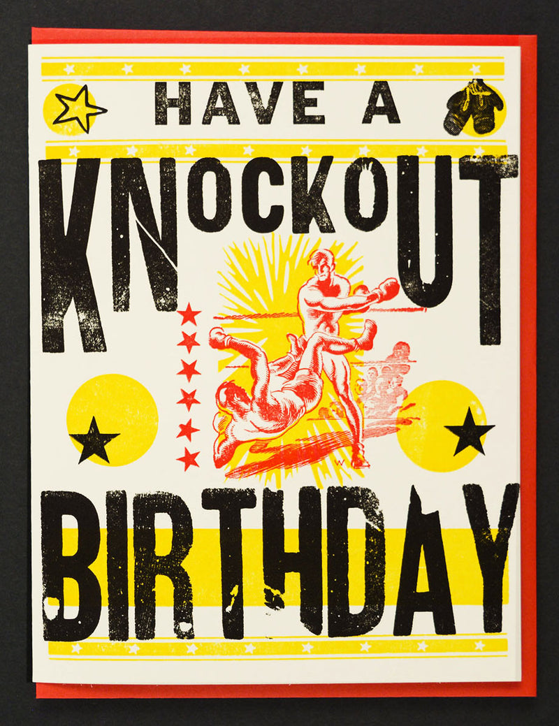 Have A Knockout Birthday