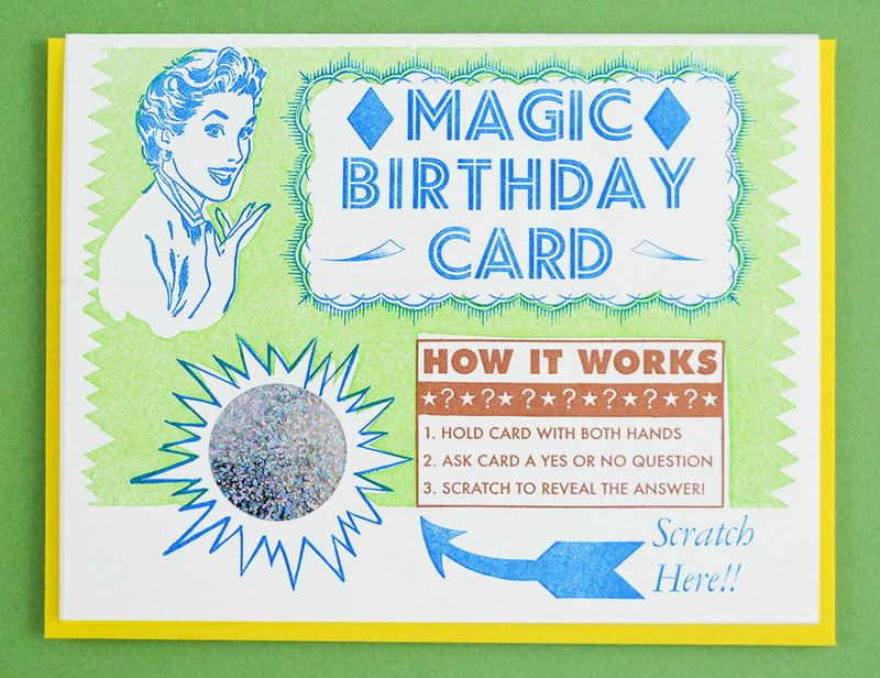 Scratch Off  Magic Birthday Card!