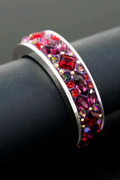 Bordeaux Band Ring