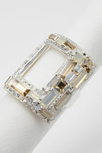 "Hollow Rectangle ""Las Vegas"" Ring"