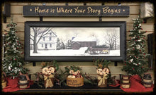 "Router Sign 3' Foot ""Home is Where Your Story Begins"""