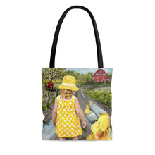 """Little Ducky Duddle"" Tote Bag Purse"
