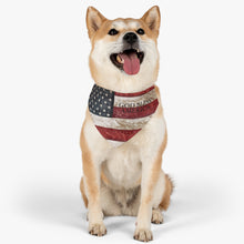 American Flag Dog Bandana Collar