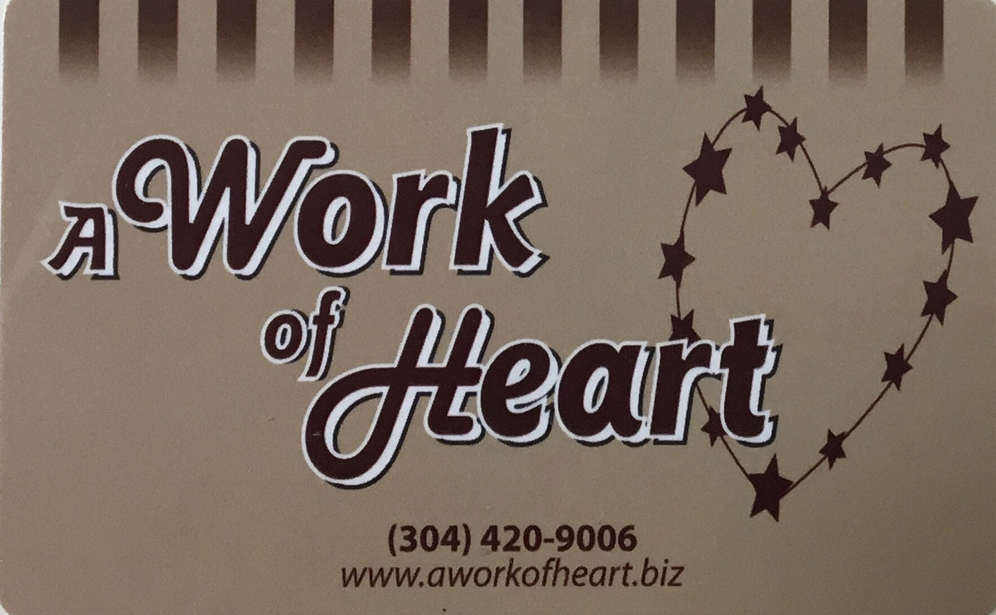 A Work of Heart eGift Cards