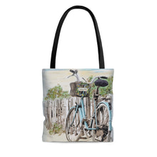 """Beach Bike"" Tote Bag Purse"