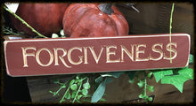 "Router Sign ""Forgiveness"""