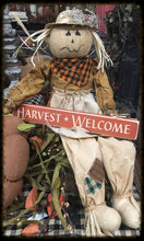 "Router Sign ""Harvest Welcome"""