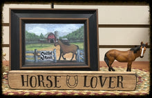 "Router Sign ""Horse Lover"""