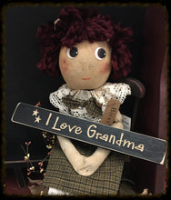 "Router Sign ""I Love Grandma"""