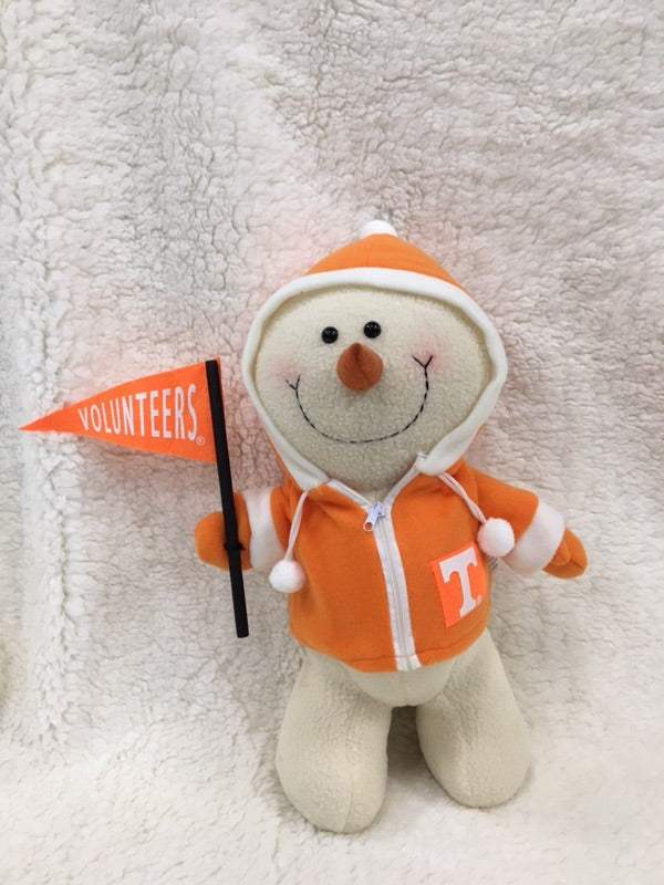 Tennessee Volunteer Collegiate Snowman