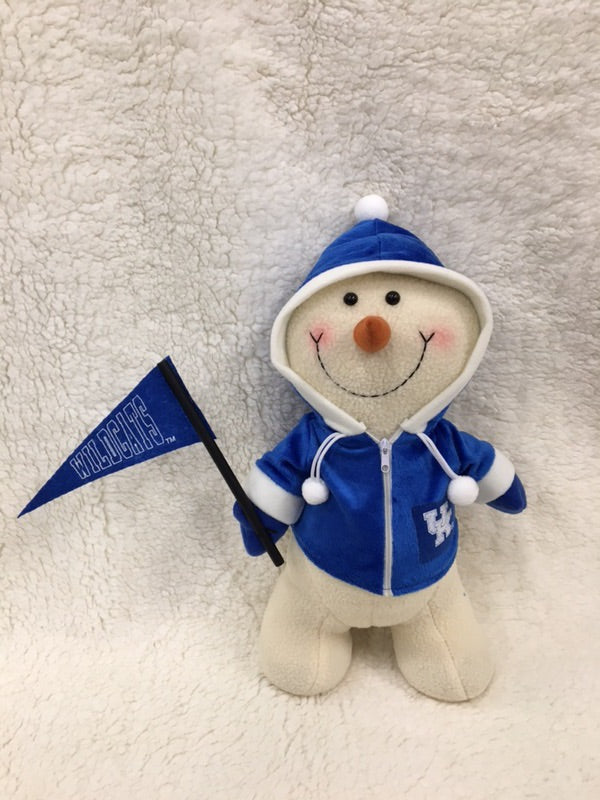 Kentucky Wildcats Collegiate Small Snowman
