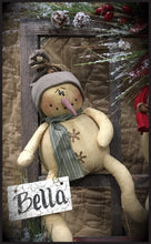 Primitive Peppermint Snowman