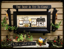 "Router Sign ""The Best is Yet to Come"""