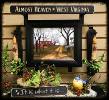 "Router Sign ""Almost Heaven West Virginia"""