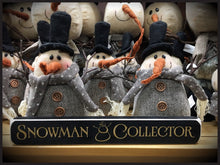 "Router Sign ""Snowman Collector"""