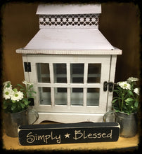 "Router Sign ""Simply Blessed"""