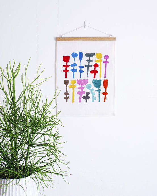 Stand Tall Fabric Wall Hanging