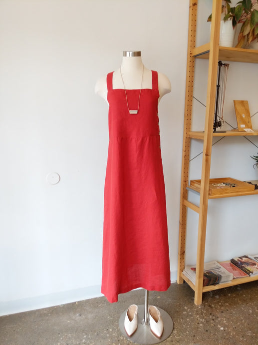 Fern Dress in Red