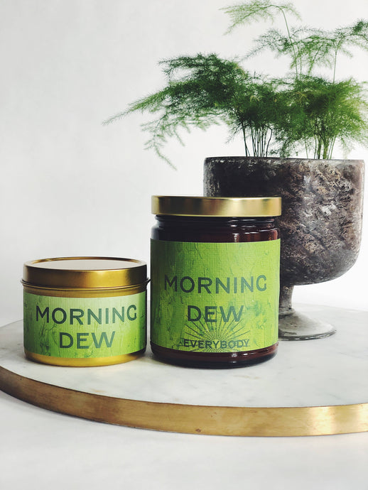 Morning Dew Candle, 6 oz