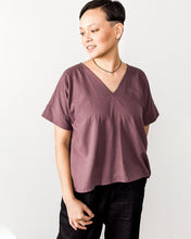 pamut Hanna Top in Fig Raw Silk