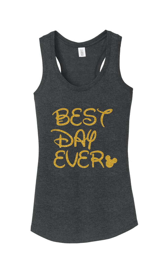 dde94bb8f BEst Day Ever Mickey Minnie Disney World Vacation Mickey Mouse Tank Top