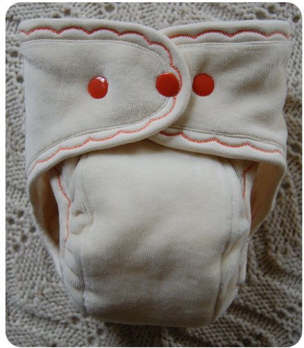 Ready to Ship ~Medium Long Undyed Fitted Cloth Diapers