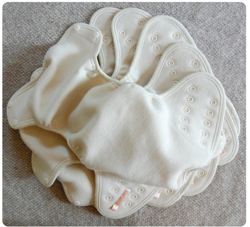Ready to Ship ~Natural Wool Diaper Covers