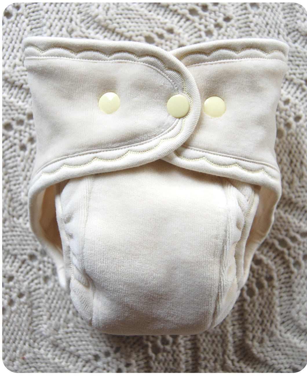 Made to Order ~undyed Fitted Cloth Diaper