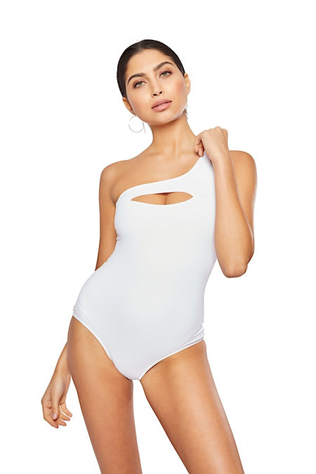 The Solitaire One-Piece,  Solid Black