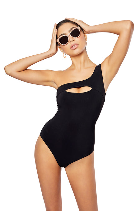 The Solange One-Piece,  Solid Yellow