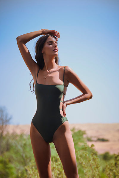 Savannah One-Piece, Olive