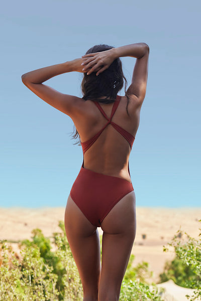 Suri One-Piece, Rust