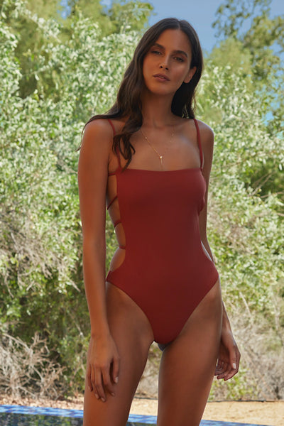 Savannah One-Piece, Rust