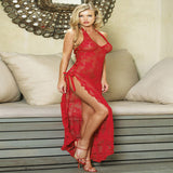 Plus Size Erotic Gown w/Thong