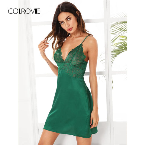 Green Sheer Nightgown
