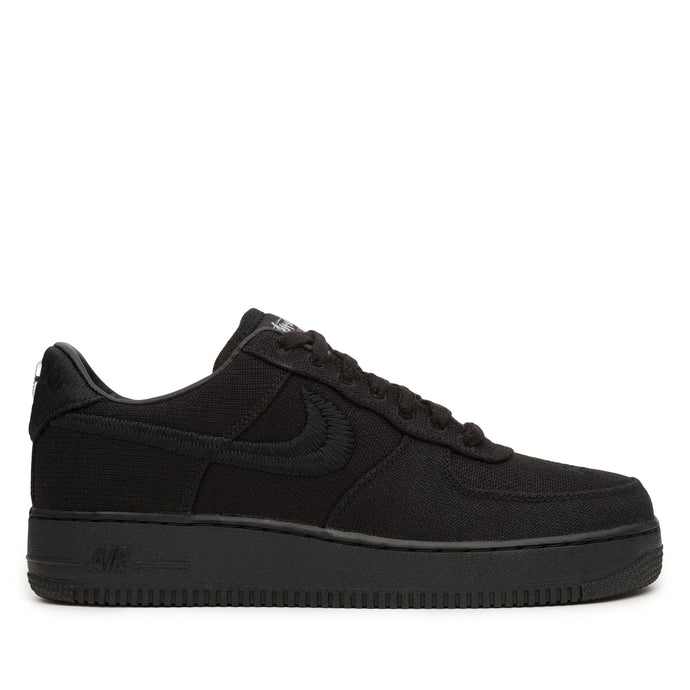 NIKE X STUSSY AIR FORCE 1 LOW BLACK (TD) (DC8306001)