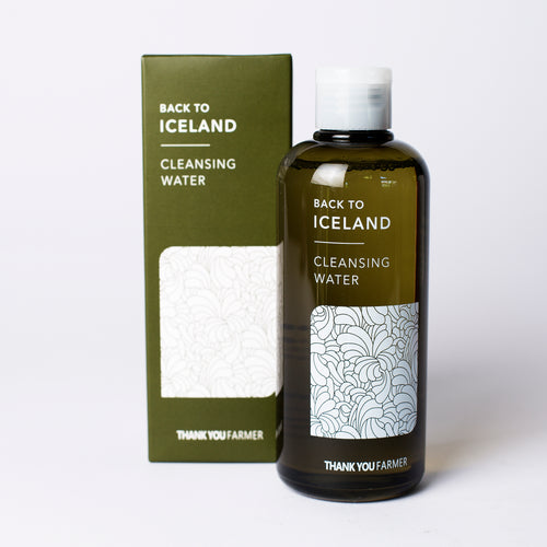 Thank You Framer Back To Iceland Cleansing Water