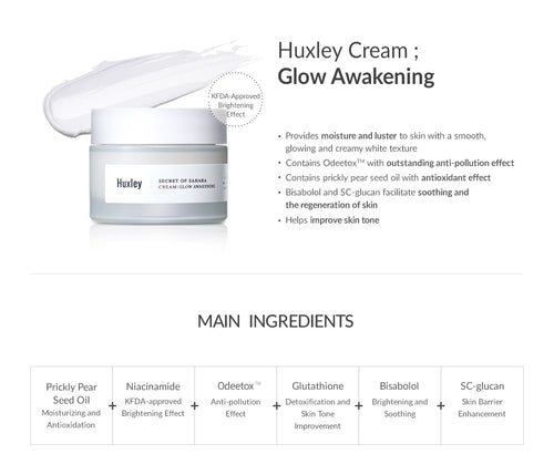 Huxley Secret of Sahara:  Glow Awakening Cream