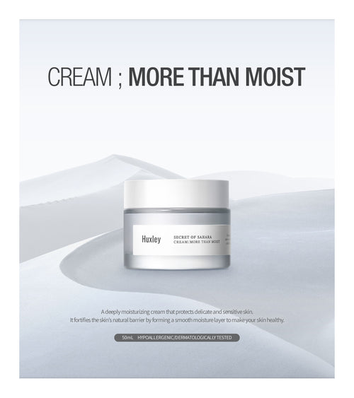 Huxley Secret of Sahara Cream: More Than Moist