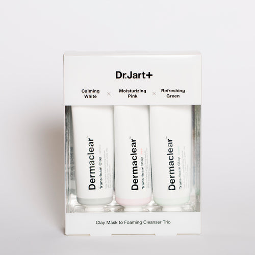 Dr. Jart Dermaclear Clay Mask Trio