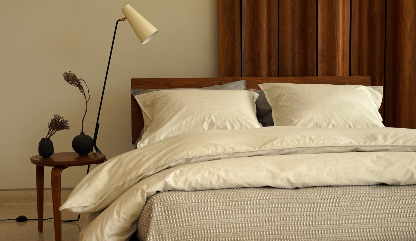 HEATHER cotton bedding collection
