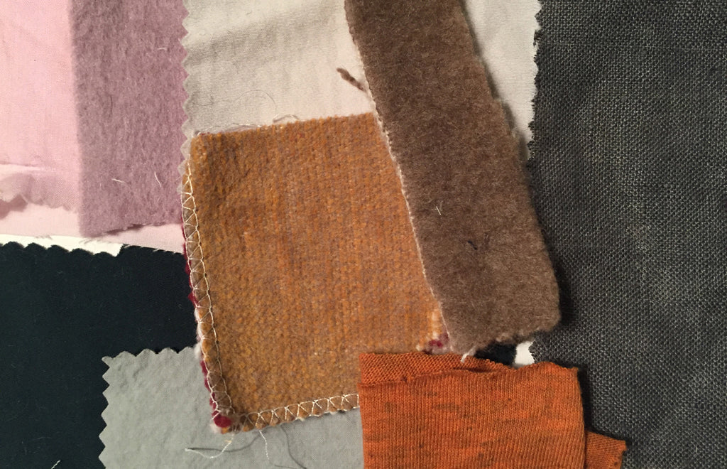 EIGHT linen decorative pillow swatches color inspiration