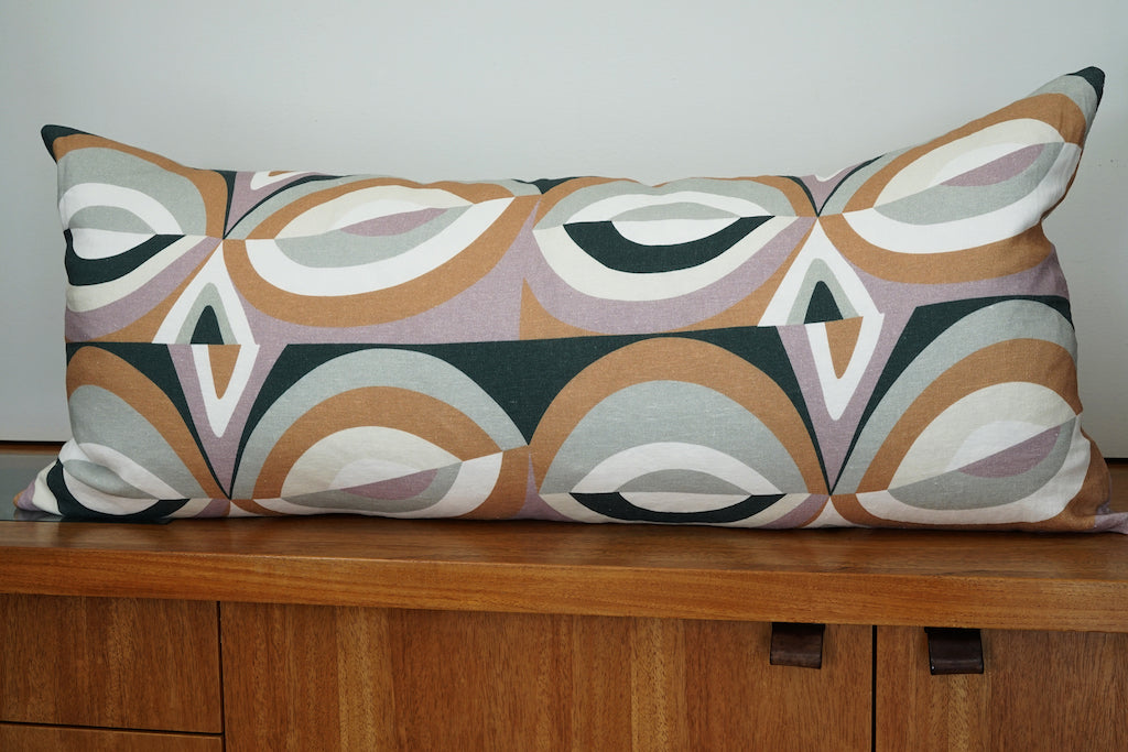 EIGHT linen decorative pillow finished product