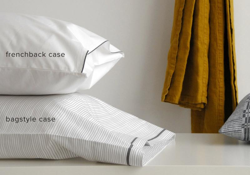 frenchback versus bagstyle pillow case
