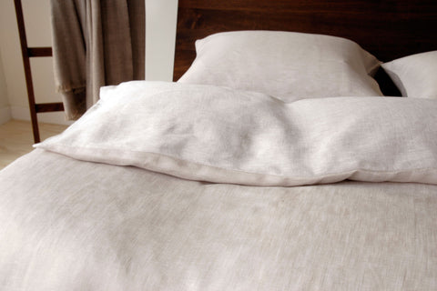 NILE Beige Fitted Sheet