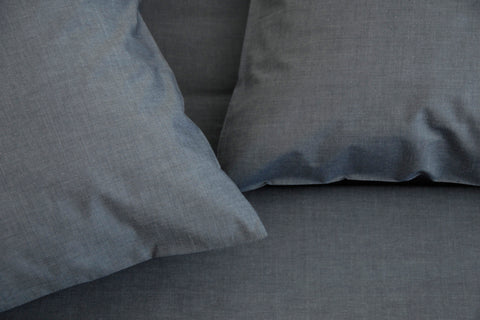 PARALLEL Blue Pillow Cases