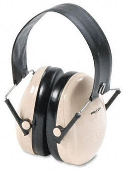 3M™ Peltor™ Optime™ 95 Black And Beige ABS Over-The-Head Hearing Conservation Folding Earmuffs (#70071517133)